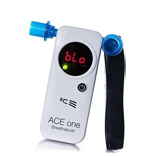 ACE one - éthylomètre avec électrochimique Capteur 2 différentes couleurs - noir, Noir, petit