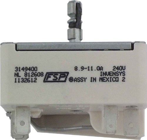 Whirlpool 3149400 Infinite Switch for Range (Whirlpool Oven Burner Control compare prices)