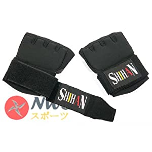 Quick Insert Hand Wraps- BLACK - PLATINUM GEL PADDING