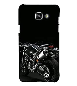printtech Superfast Bike Back Case Cover for Samsung Galaxy A7 (2016)