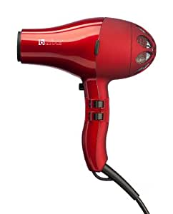 Barbar Italy 4800 Ionic Blow Dryer, Red