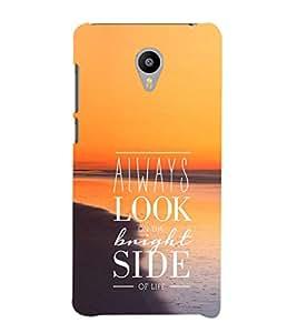 EPICCASE Bright side Mobile Back Case Cover For Meizu m2 Note (Designer Case)