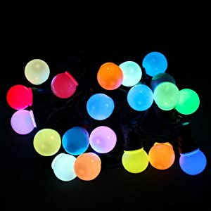 String Lights Big W : WeRChristmas Colour Changing Globe Festoon Big Bulb Christmas/ Party/ Barbeque LED Light String ...