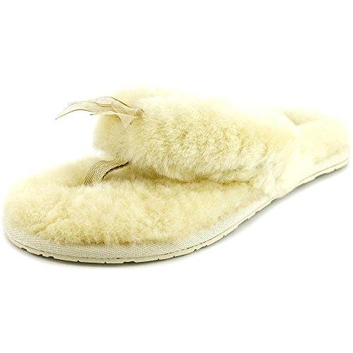 Ugg Australia Fluff Flip Flop II, Pantofole donna Beige Natur, Beige (Natur), 42 EU