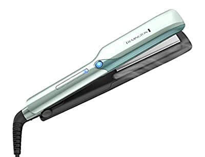 Remington S8700 T|Studio PROtect Flat Iron Straightener, 1-Inch, Aquatic Green