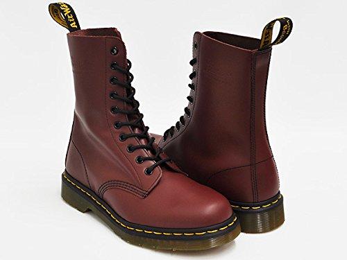(ドクターマーチン) Dr.Martens 10EYE BOOT #1490 10 アイ ホール ブーツ CHERRY RED 11857600 26.0(7)UK [並行輸入品]