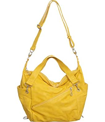 Yellow Vitalio Limited Edition ''Ziggy'' Crossbody Bag
