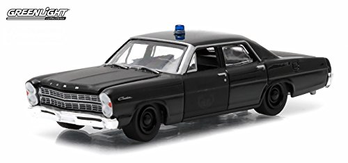 1967 FORD CUSTOM * Black Bandit Collection Series 12 * 2015 Greenlight Collectibles Limited Edition 1:64 Scale Die-Cast Vehicle (Chevy Volt Model compare prices)