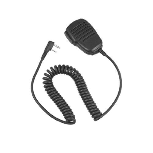 Black 2 Pin Plug Speaker Microphone For Icom Ic-Iv8