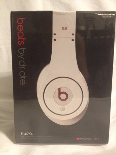 Monster Beats By Dre Studio High Definition Headphones White 2012 Top Rated