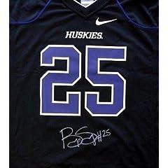 Bishop Sankey Autographed Signed Nike Uw Huskies Black Jersey Size Xl Mcs Holo -...