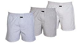Careus Men's Cotton Boxers (Pack of 3)(15_17_18_Multi-coloured_Large)