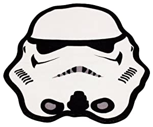 Character World Clone Wars Trooper Shaped Rug from Character World