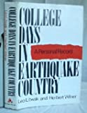 img - for College Days In Earthquake County book / textbook / text book