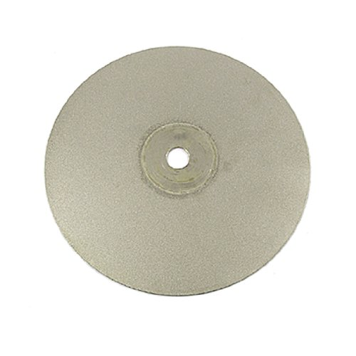 "uxcell 6"" Stone Granite Diamond Grinding Wheel Disc 400 Grit 1/2"" Arbor Hole"