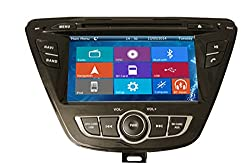 See Crusade Car DVD Player for Hyundai Elantra Avante 2014- Support 3g,1080p,iphone 6s/5s,external Mic,usb/sd/gps/fm/am Radio 7 Inch Hd Touch Screen Stereo Navigation System+ Reverse Car Rear Camara + Free Map Details