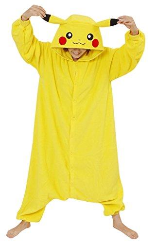 Gillbro-animado-animal-adulto-del-traje-de-Cosplay-de-los-pijamas-Pikachu