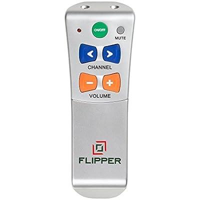Flipper Big Button Universal Remote for UK / EU