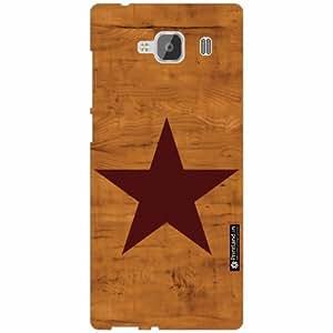 Xiaomi Redmi 2 Prime Back Cover - Silicon Wood Designer Cases