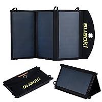 """Suaokiâ""""¢ Solar Phone Battery Charger Ul..."""