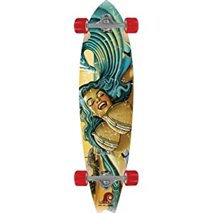 Palisades San Onofre Rietveld Complete Skateboard (9.37 X 38-Inch)