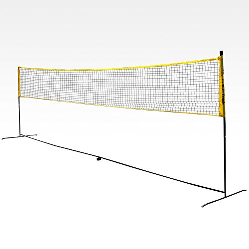 Backyard Volleyball Net Size : PORTABLE VOLLEYBALLBADMINTON NET SYSTEM (SVB400) Images  Frompo