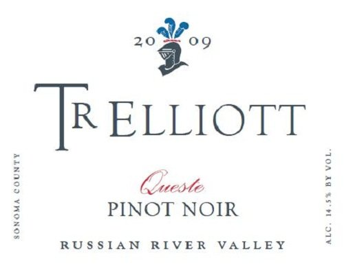 2009 Tr Elliott Queste Russian River Valley Pinot Noir 750 Ml