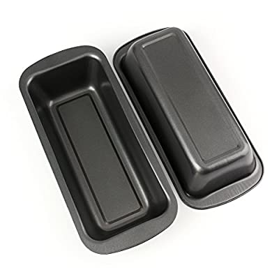 Tosnail Long Non-stick Loaf Pan Set, 2 Pack