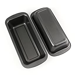 Tosnail Long Non-stick Loaf Pan Set, 9\