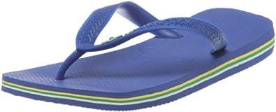 Havaianas HAV. BRASIL, Unisex-Erwachsene Zehentrenner, Blau (Marine Blue / 2711), 47/48 EU