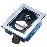光陽産業:都市ガス用 フレキ床コンセントヒューズガス栓  型式:G775AF-12D
