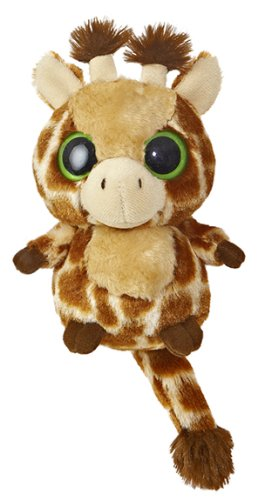 "Aurora World YooHoo Topsee Giraffe 5"" Plush"