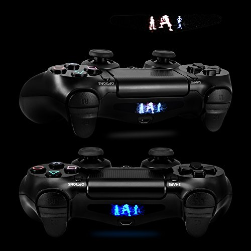 Extremerate personalized reuseable colors light bar sticker skin extremerate personalized reuseable colors light bar sticker skin decal led lightbar cover for sony dualshock 4 playstation 4 ps4 controller electronics aloadofball Choice Image