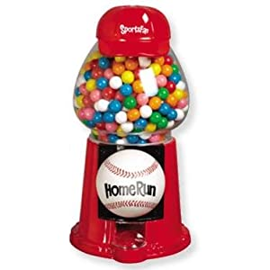 Sports Fan Gumball Machine - Baseball, 1 count