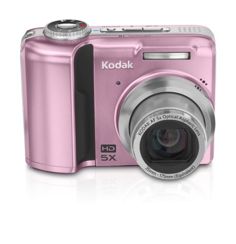 Kodak EasyShare Z1485 14MP Digital Camera with 5x Optical Image Stabilized Zoom and 2.5 inch LCD (Pink)