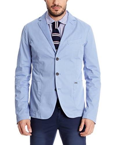 Pepe Jeans London Chaqueta Clásica Hombre Colbert Rt Azul Claro