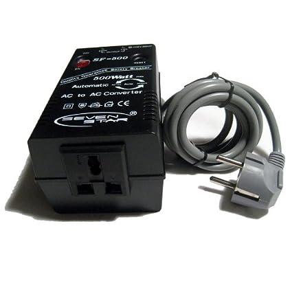 electricity transformer adapter 500 watts autoconverter 110v 220v 240v 50hz 60hz ebay. Black Bedroom Furniture Sets. Home Design Ideas
