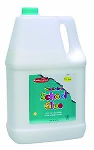 Charles Leonard Incl. AP Certified School Glue, White, 128 Ounce Bottle (46128)