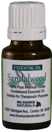 Sandalwood (Santalum Album) Pure Essential Oil - 15 Ml (0.5 Fl. Oz) -