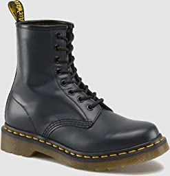 Dr. Martens 1460 Originals Eight-Eye Lace-Up Boot,Navy Smooth Leather,6 UK / 7 M US Mens / 8 M US Womens