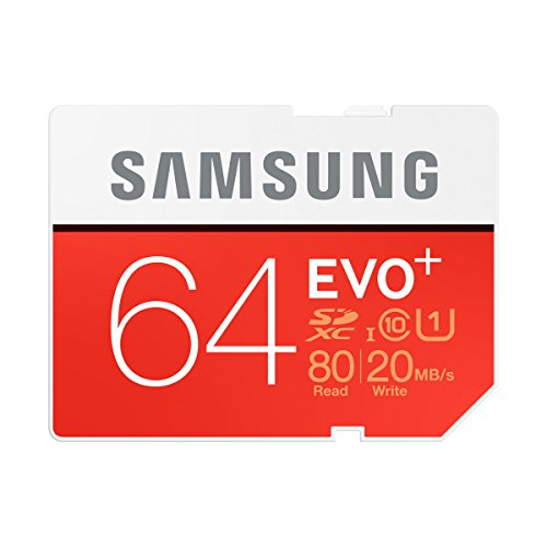 Samsung SDXCカード 64GB EVO+ Class10 UHS-...