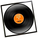Record Album Frame - Black - One Supplied