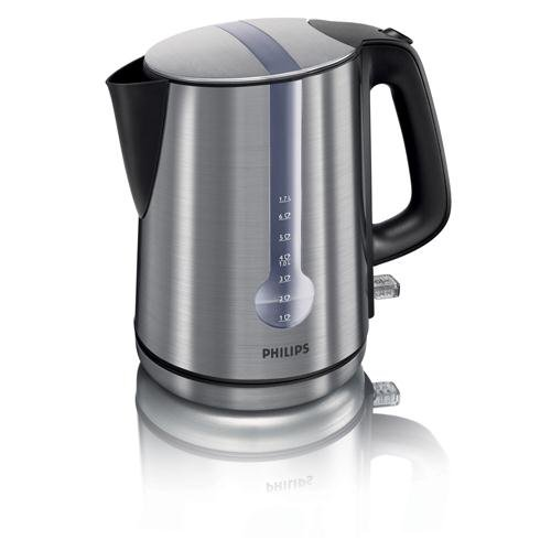 41SJk1U qtL - UK BESTSELLER Philips HD4671/20 Metalic Silver Energy Efficient 3000W Jug Kettle
