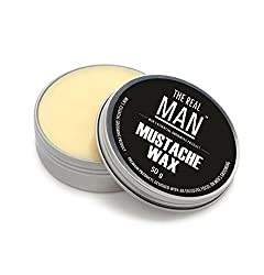Mustache Wax(50g) by THE REAL MAN