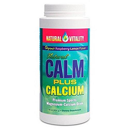 Natural Vitality Natural Calm Plus Calcium Raspberry - Lemon
