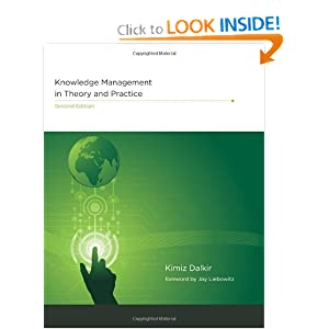 Knowledge Management in Theory and Practice Kimiz Dalkir