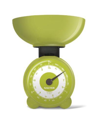Salter Orb Balance de cuisine mécanique Vert