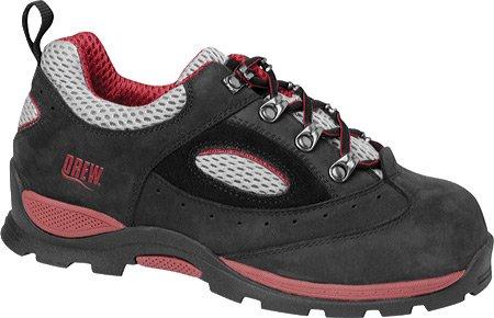 Drew Shoe Women'S Madison Hiking Shoe,Black/Red,12 M Us