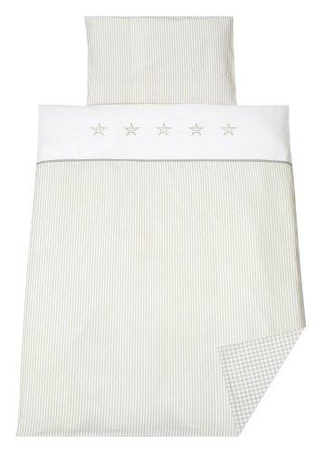 schardt 1351400003 714 linge de lit set 2 pi ces star beige beige burnirety blogs. Black Bedroom Furniture Sets. Home Design Ideas