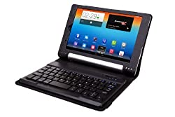MoKo Lenovo Yoga 8 Keyboard Case - Wireless Bluetooth Keyboard Cover Case for Lenovo Yoga 8 inch Android Tablet, BLACK